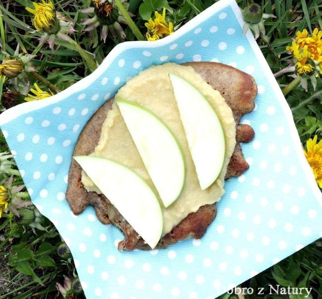 Gryczano-jaglane bezglutenowe racuchy z jabłkami